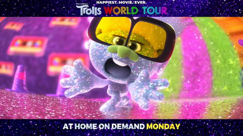 Trolls World Tour TV Spot - We're Back (2020) Screen Capture #1