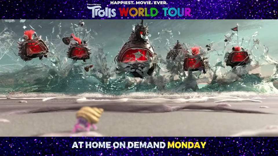 Trolls World Tour TV Spot - We're Back (2020) Screen Capture #2