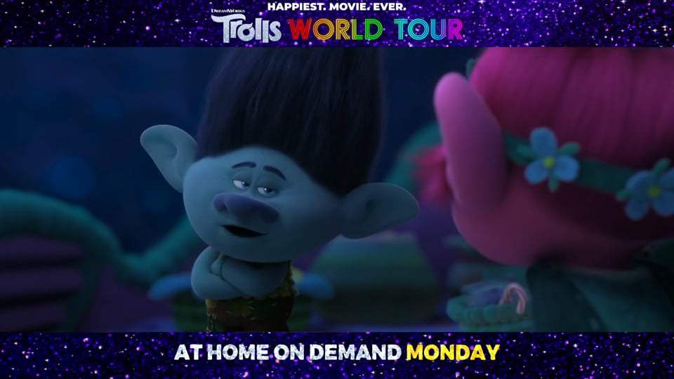 Trolls World Tour TV Spot - We're Back (2020) Screen Capture #4