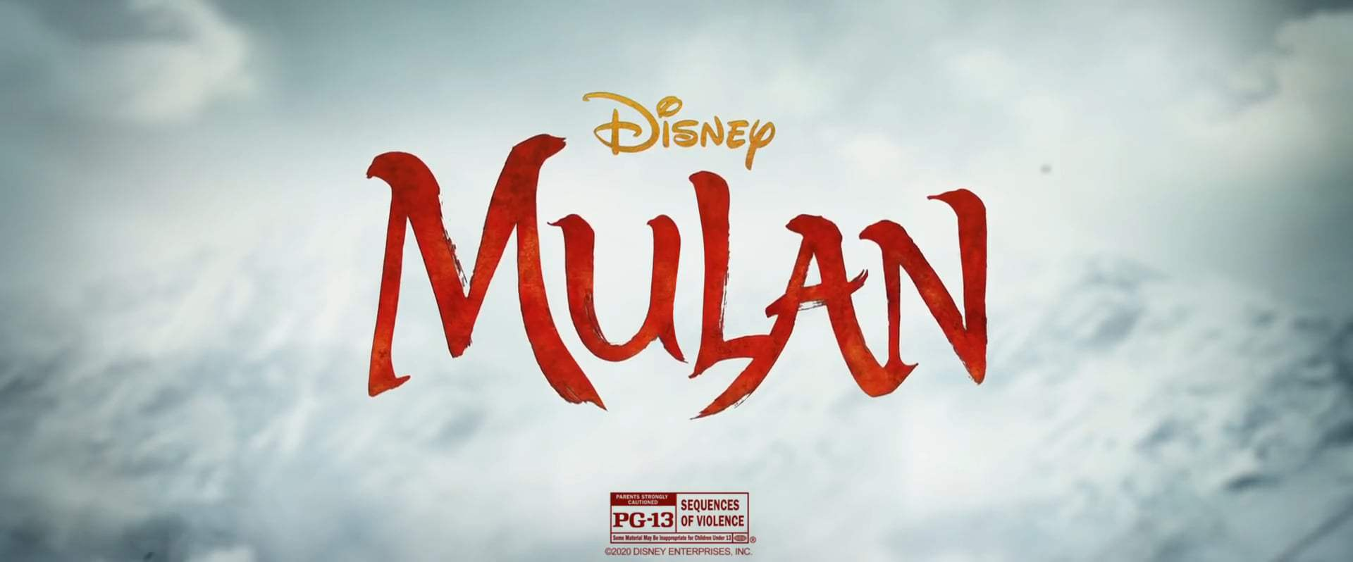 Mulan TV Spot - Never Give Up (2020) Screen Capture #4