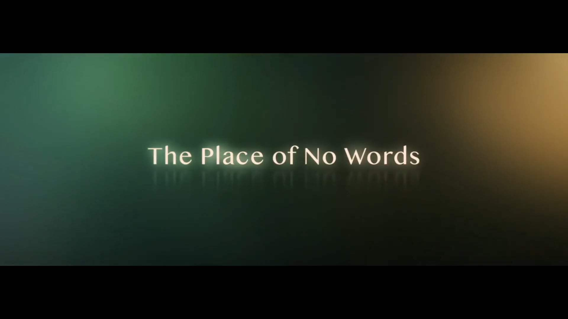 The Place of No Words Trailer (2020) Screen Capture #4