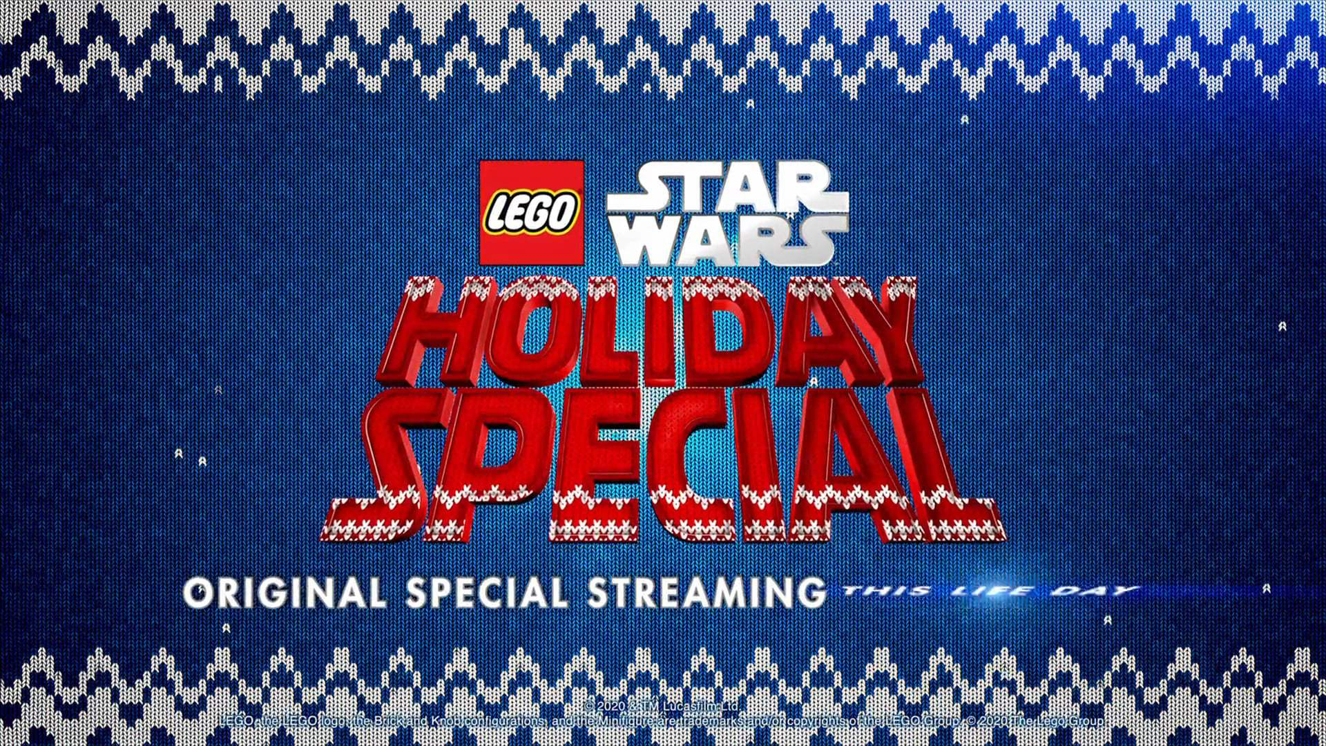 The Lego Star Wars Holiday Special Trailer (2020) Screen Capture #4