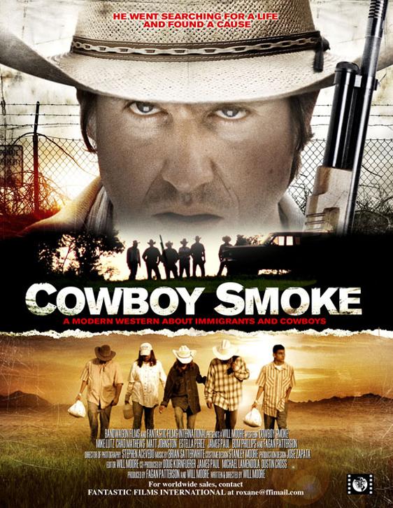 Cowboy Smoke Poster #1