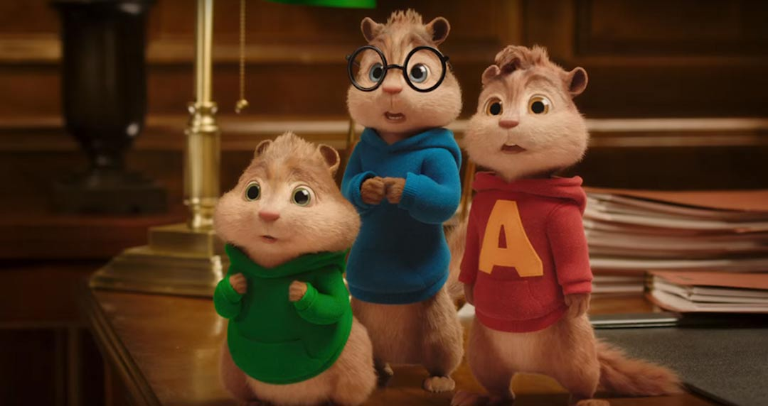 Alvin and the Chipmunks: The Road Chip Feature Trailer Screencap