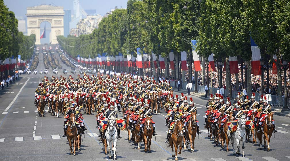 Bastille Day Parade in France