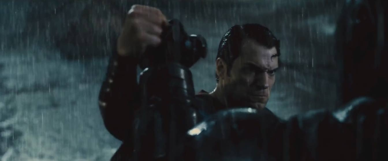 Batman v Superman Trailer Screencap