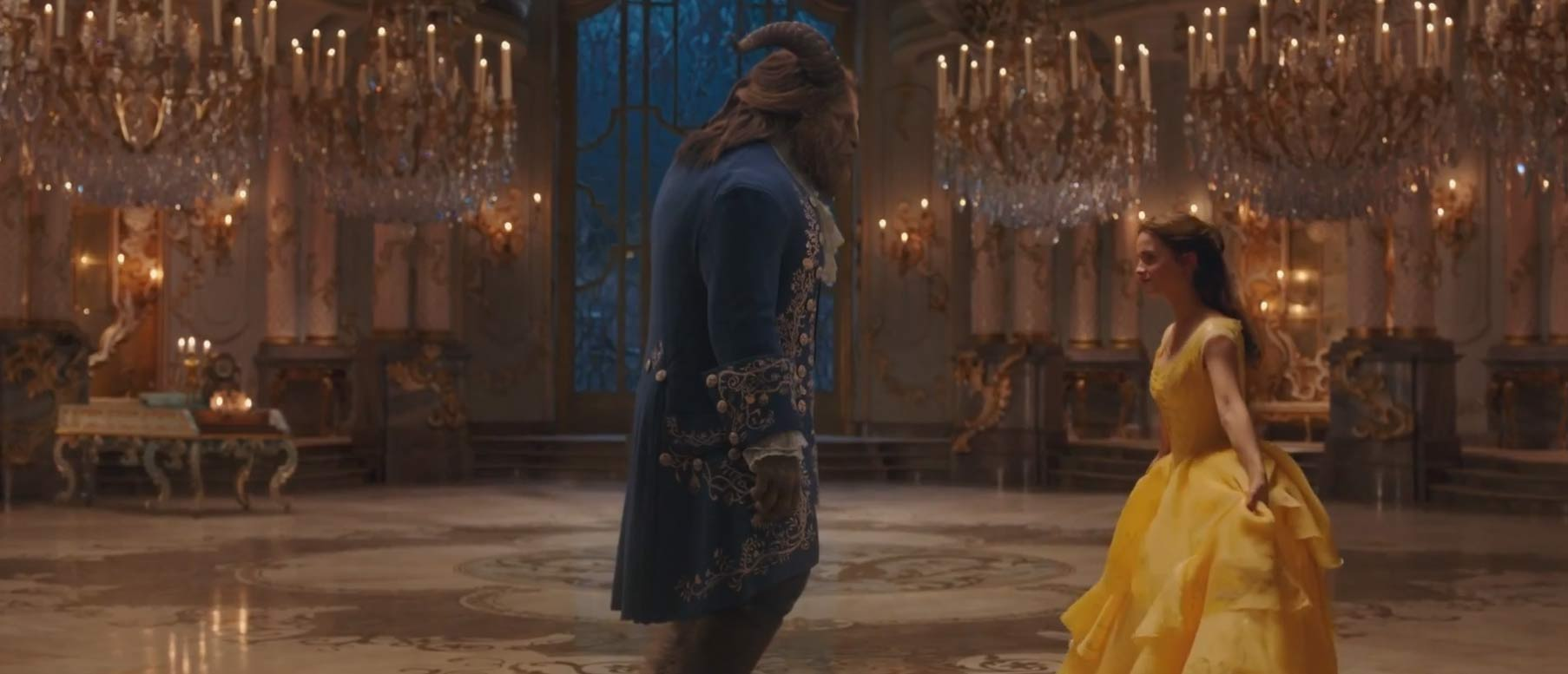 Beauty and the Beast Feature Trailer Screen shot 2