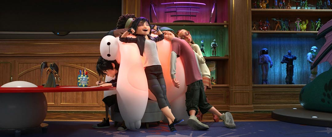 Big Hero 6 Feature Trailer Screencap