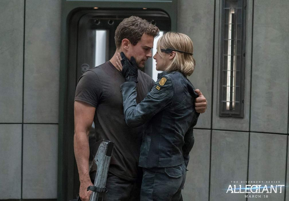 The Divergent Series: Allegiant Trailer Screencap