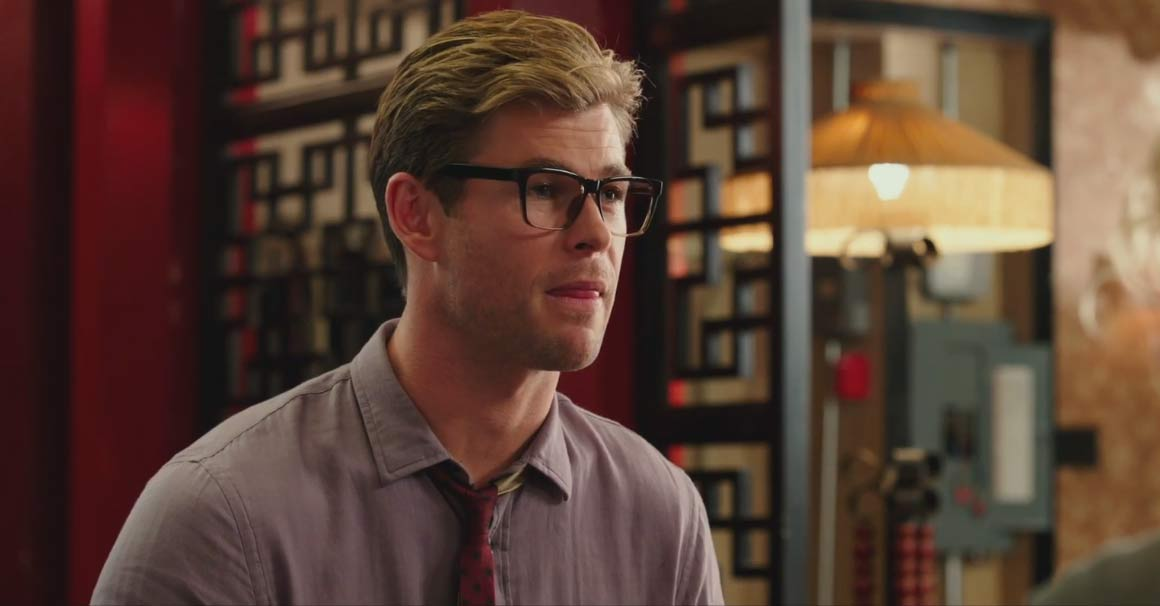 Ghostbusters Chris Hemsworth Trailer Screencap