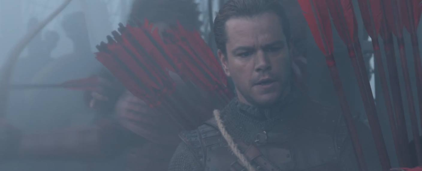 The Great Wall Trailer Screen Shot 1