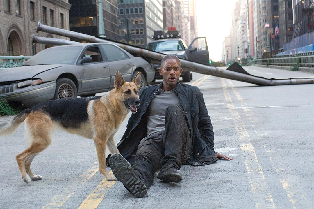 I Am Legend Trailer Screencap