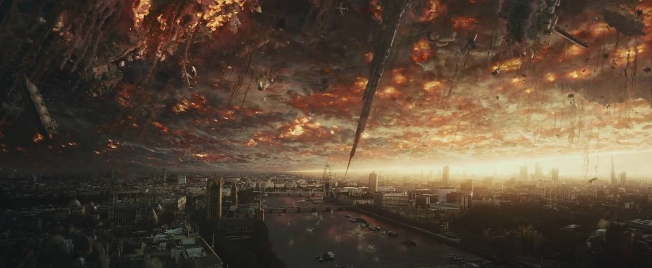 Indenpendence Day: Resurgence Super Bowl TV Spot Screenshot