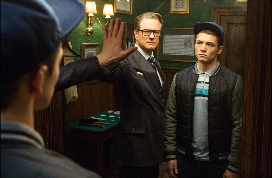 Kingsman: The Secret Service Red Band Trailer Screencap
