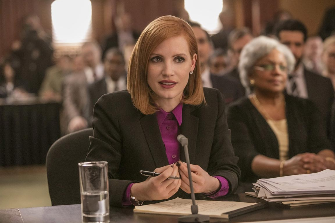 Miss Sloane Trailer Screencap