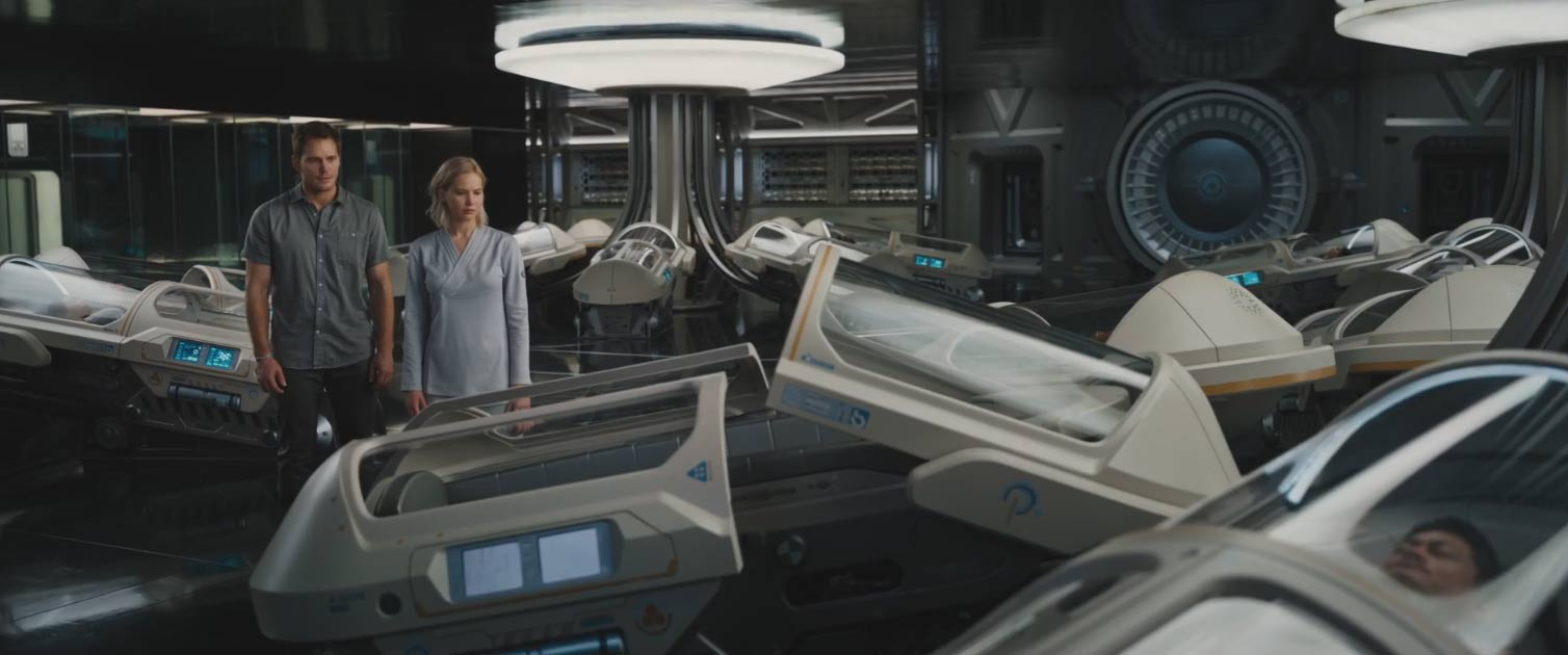 Passengers trailer 2016 for Passengers spaceship