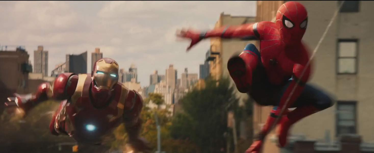 Spider-Man Homecoming Feature Trailer Screen 2