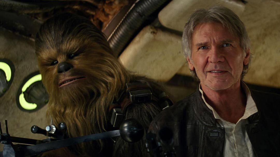 Star Wars: Episode VII - The Force Awakens Trailer Screencap
