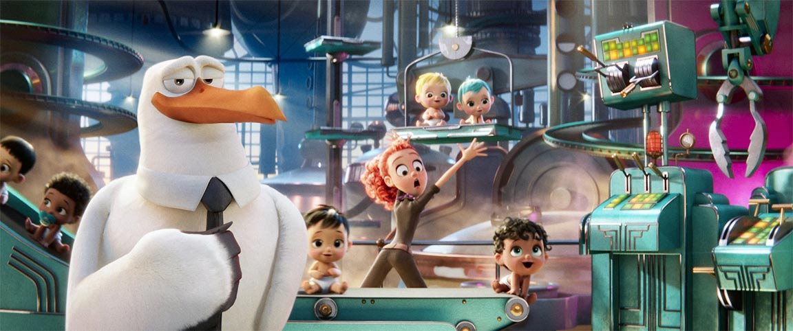Storks Feature Trailer Screencap