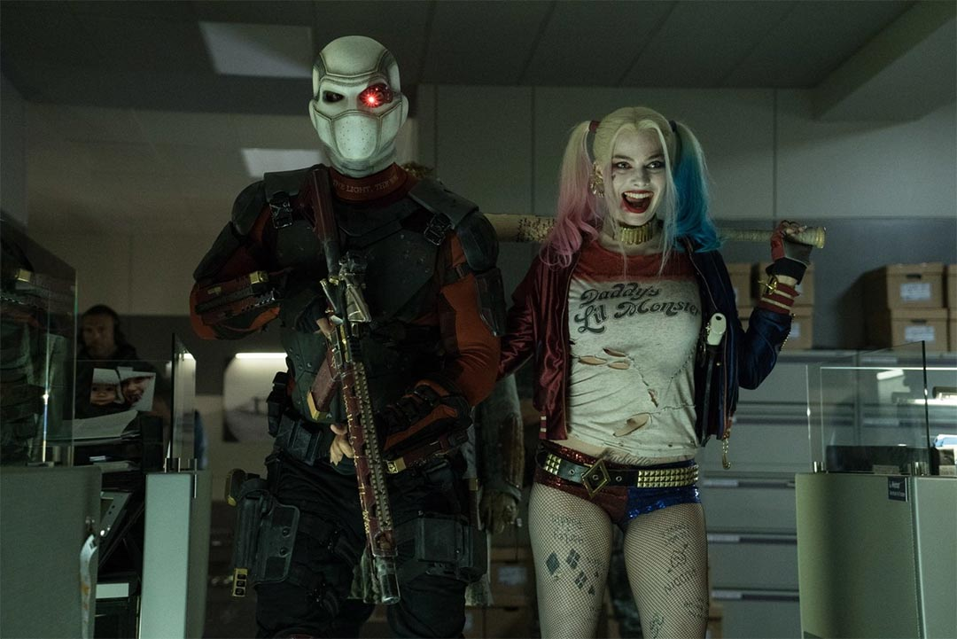 Suicide Squad Hall H Trailer Screencap