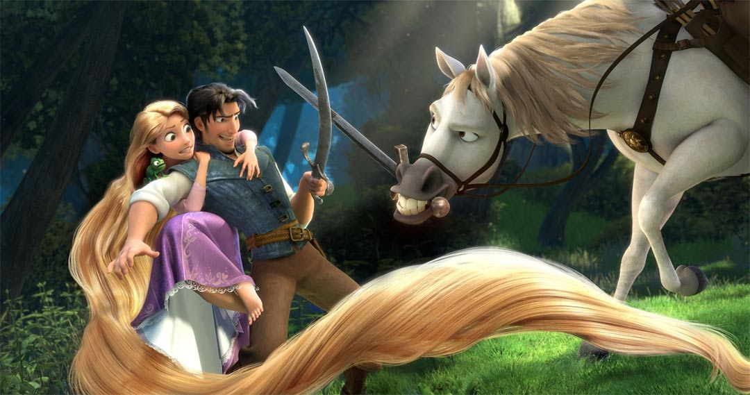 Tangled Feature Trailer Screencap