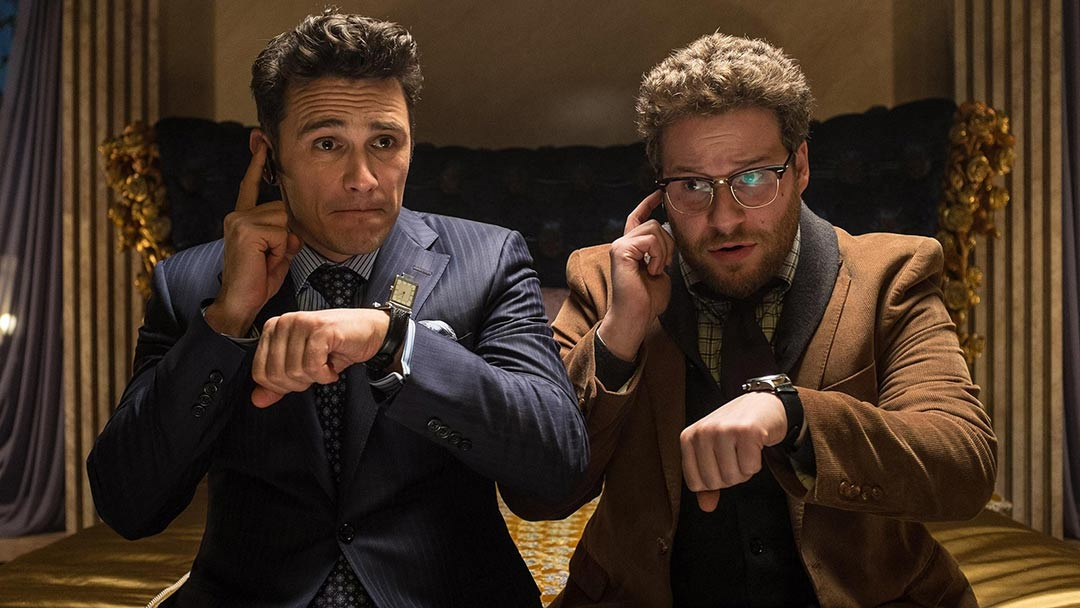 The Interview Red Band Trailer Screencap