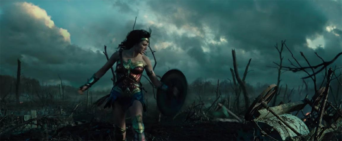 Wonder Woman Trailer Screencap