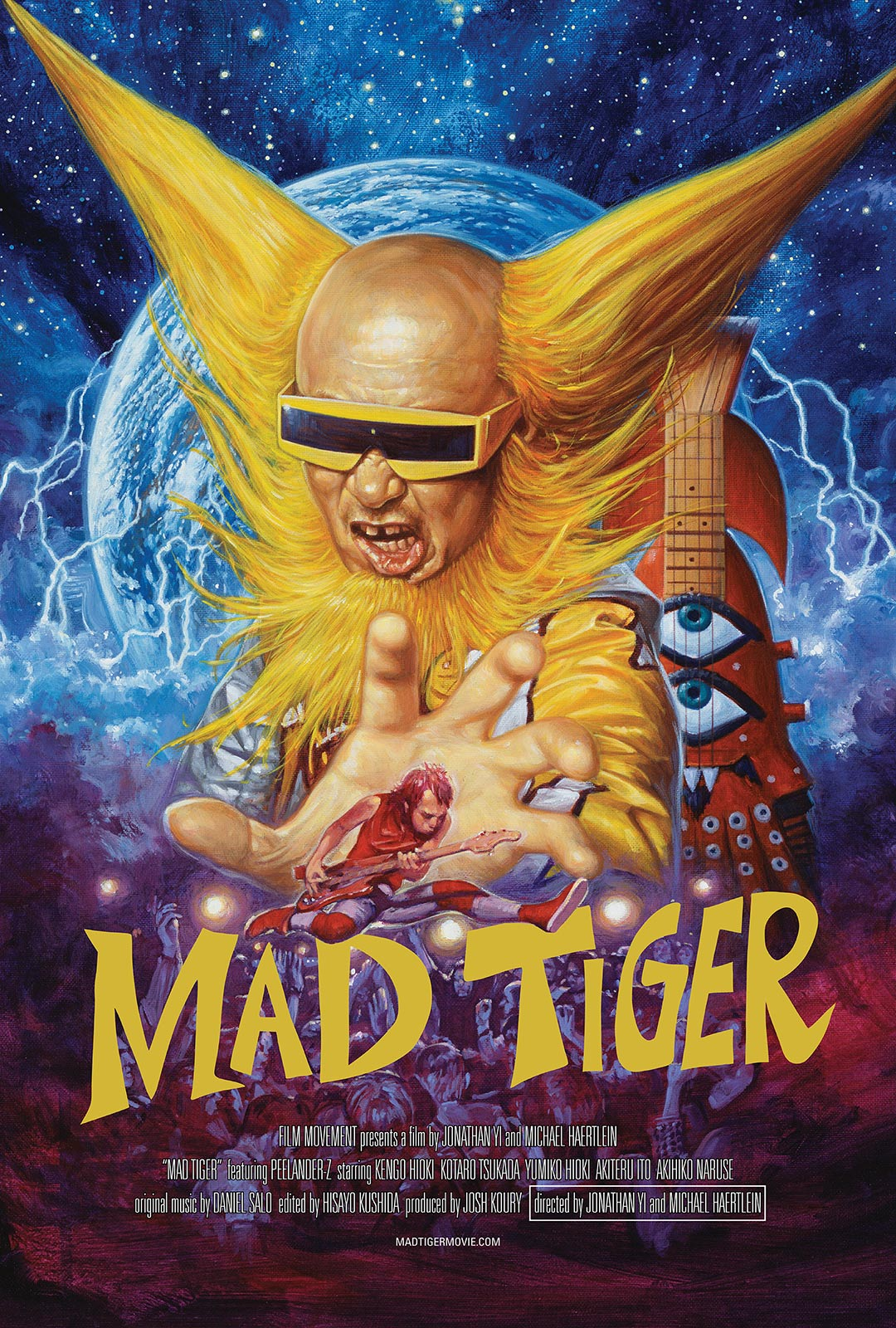 Mad Tiger Poster #1