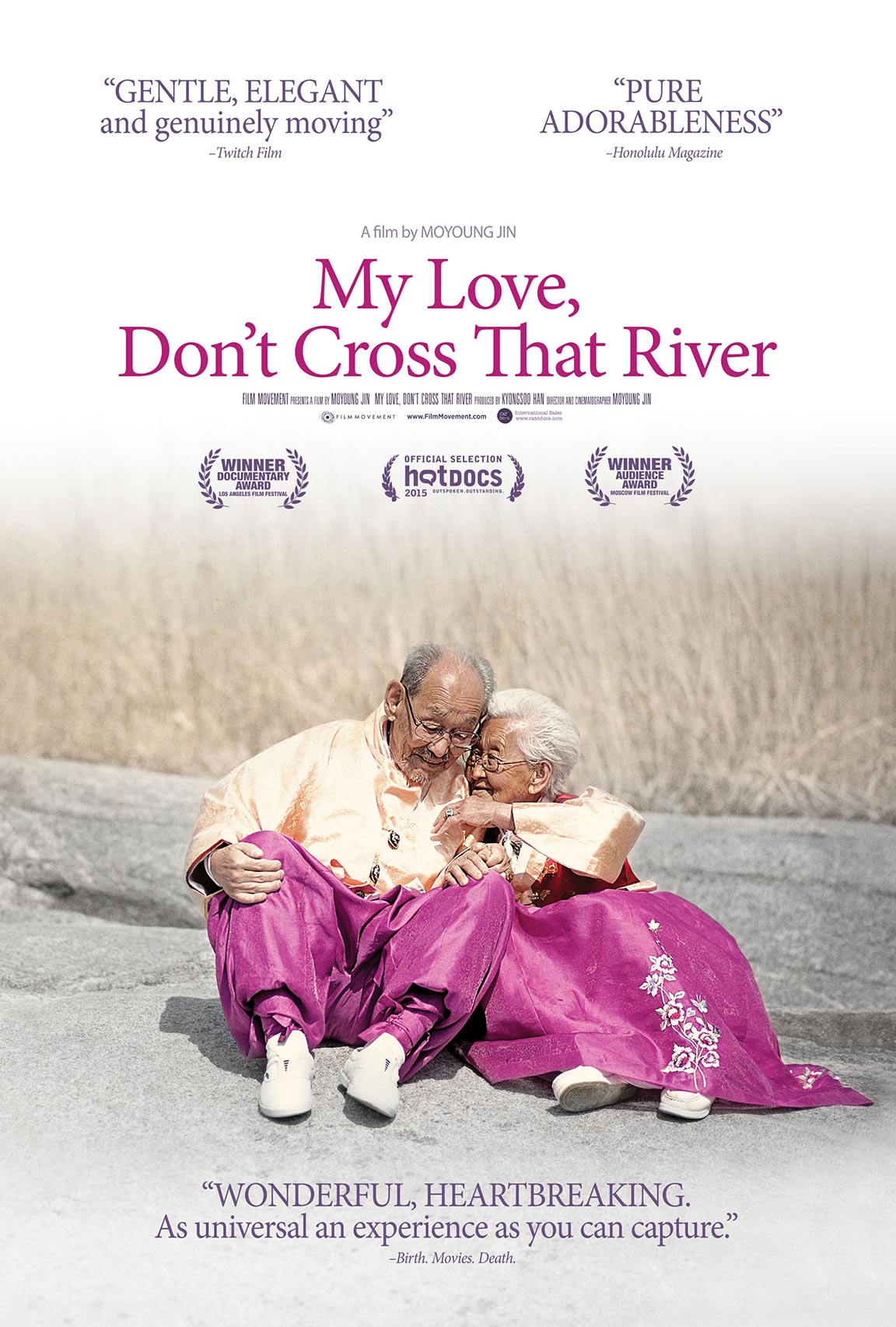 My Love, Don't Cross That River Poster #1