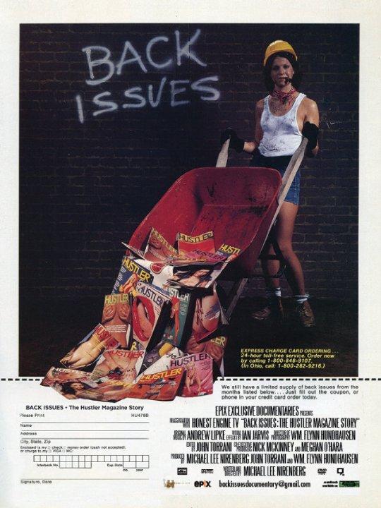 Back Issues: The Hustler Magazine Story Poster #1