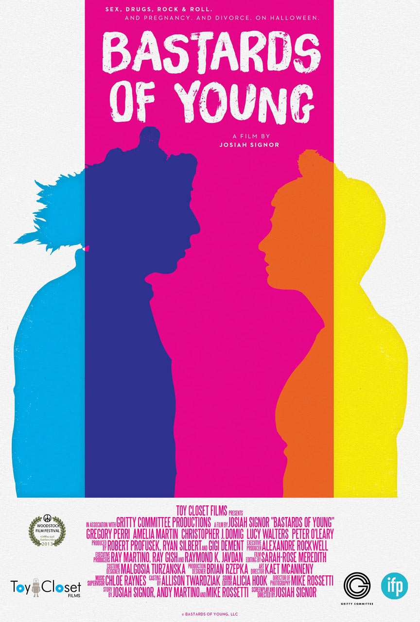 Bastards of Young Poster #1