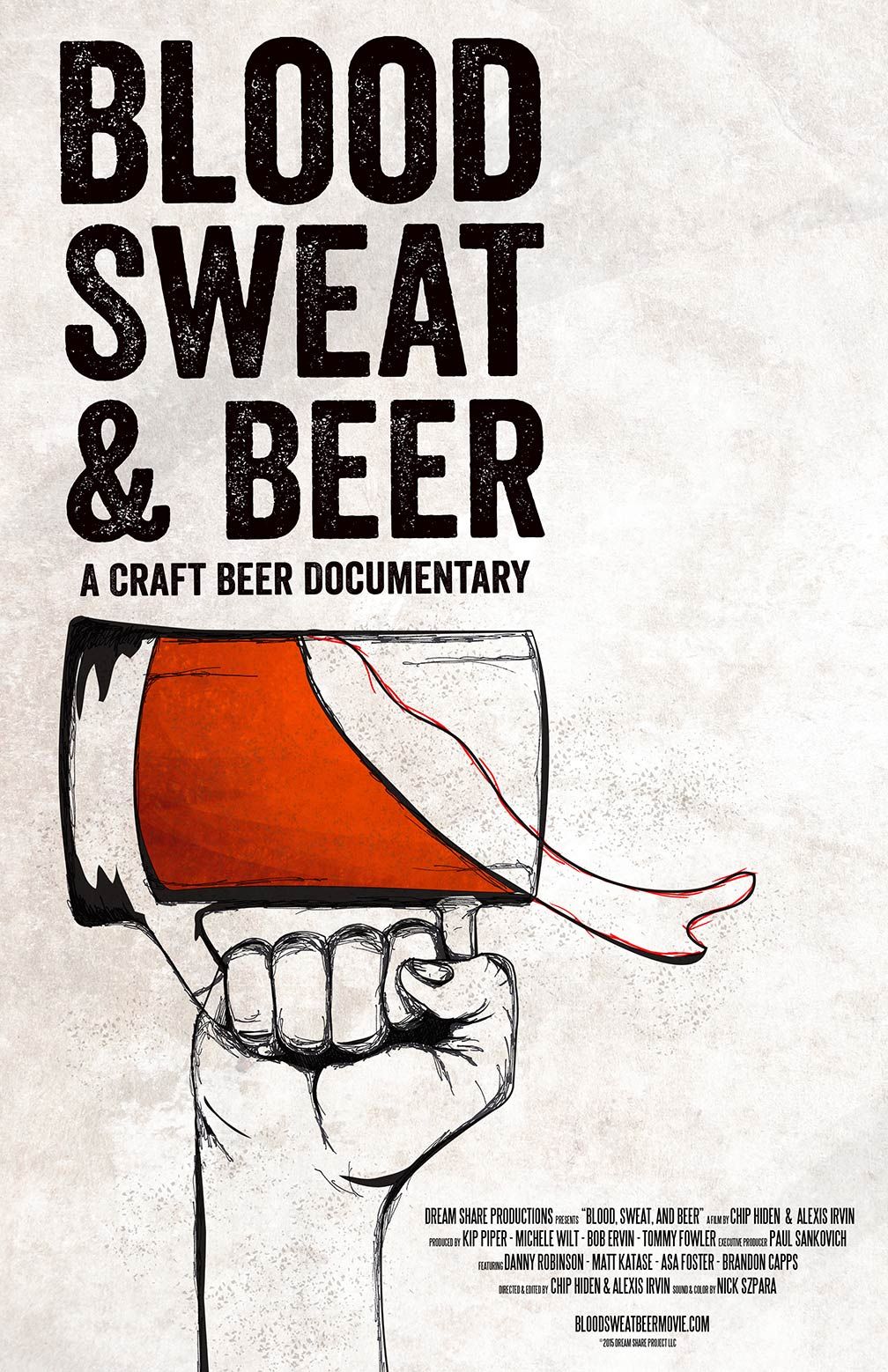 Blood, Sweat, and Beer Poster #1