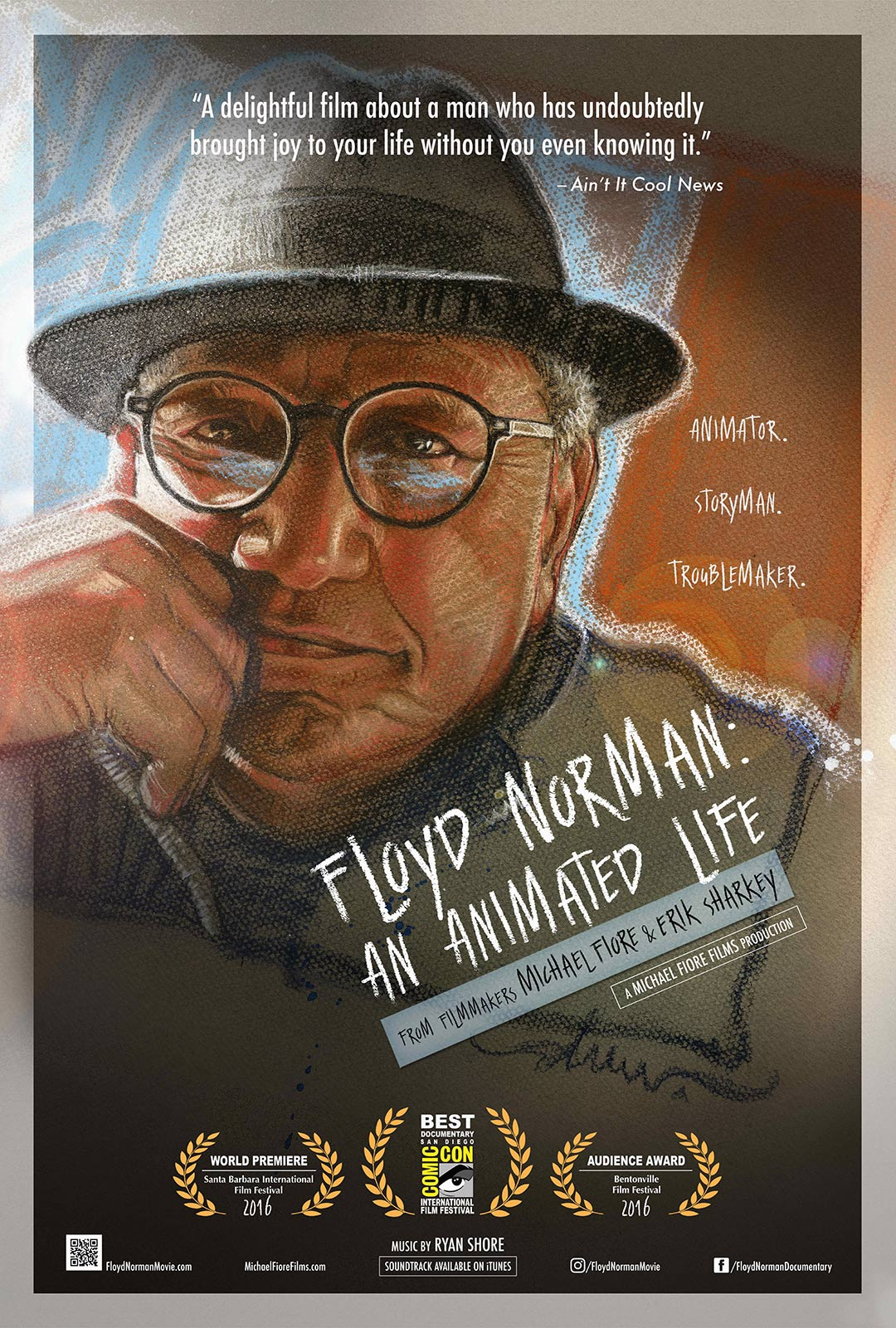 Floyd Norman: An Animated Life Poster #1