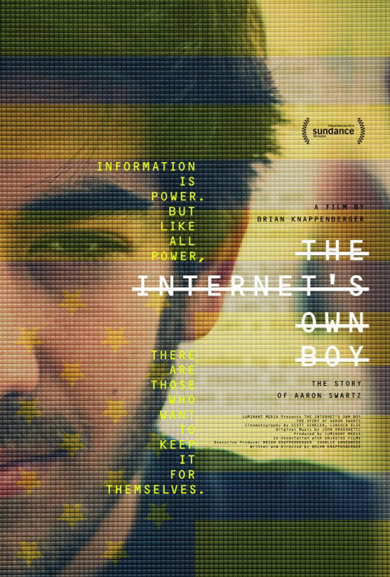 The Internet's Own Boy: The Story of Aaron Swartz Poster #1