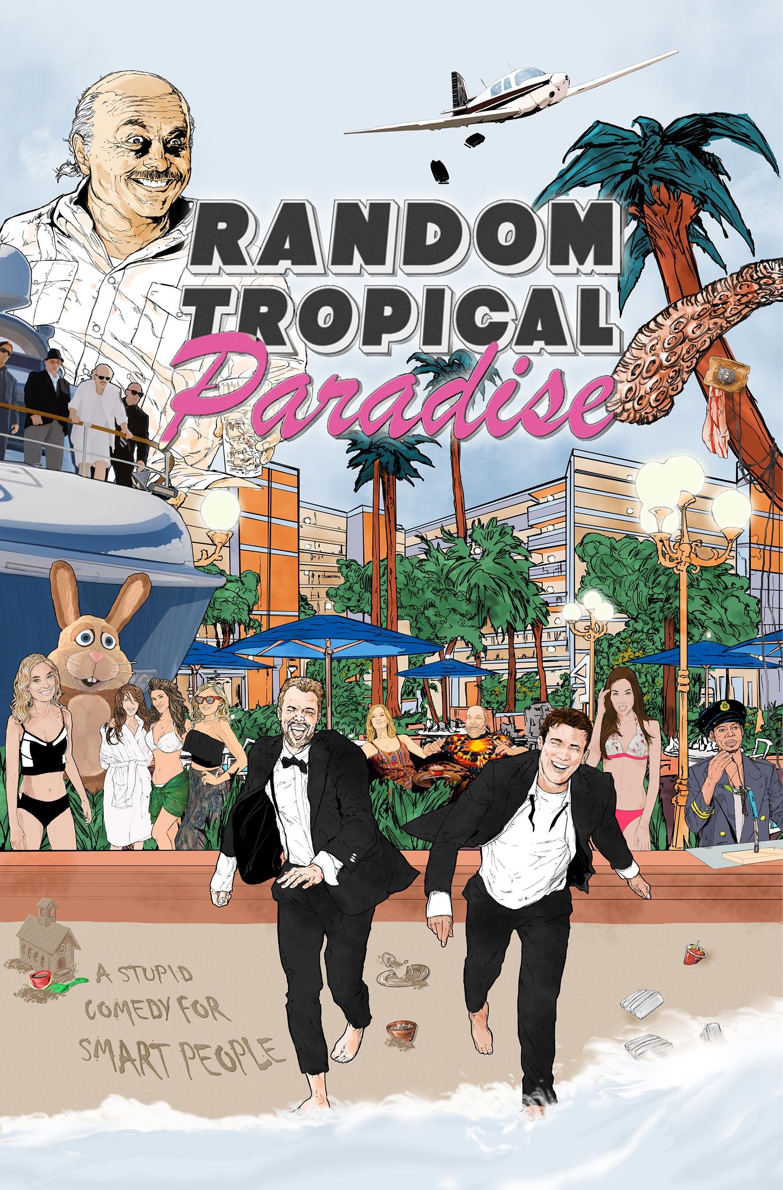 Random Tropical Paradise Poster #1