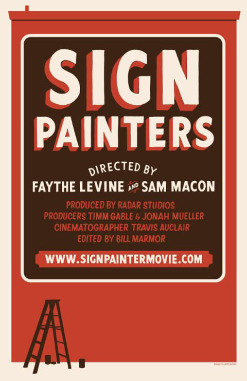 Sign Painters Poster #1