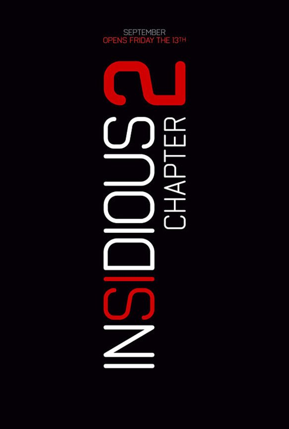 Insidious: Chapter 2 Poster #1