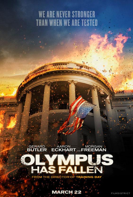 Olympus Has Fallen Poster #1