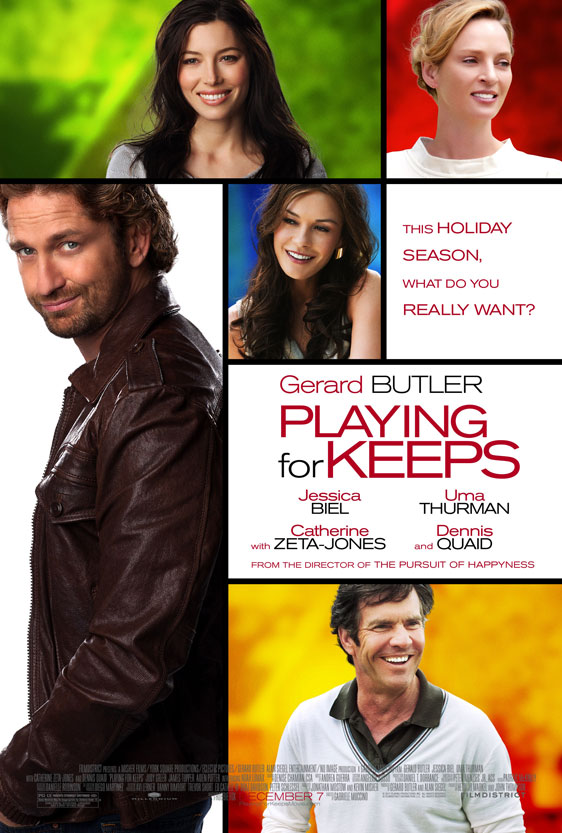 Playing For Keeps Poster #1