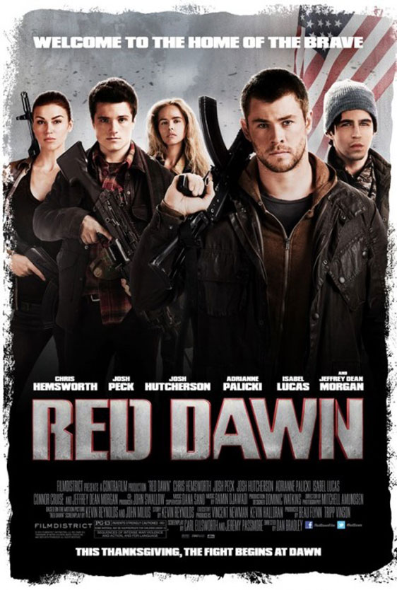 Red Dawn Poster #1