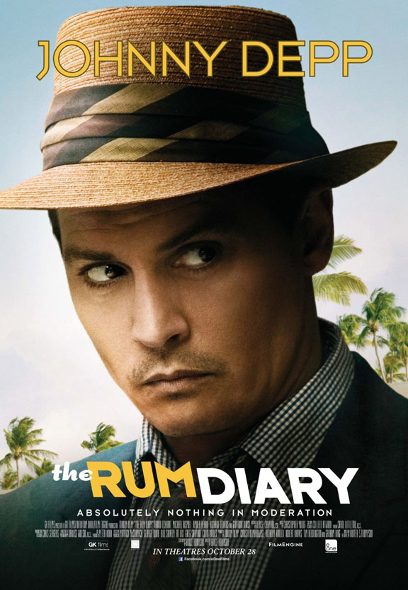 The Rum Diary Poster #2