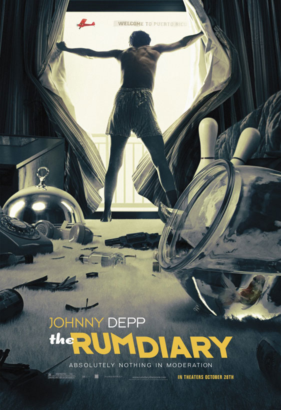The Rum Diary Poster #3