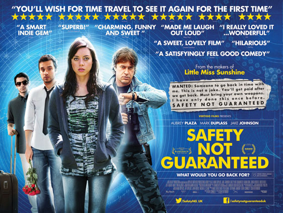 Safety Not Guaranteed Poster #3