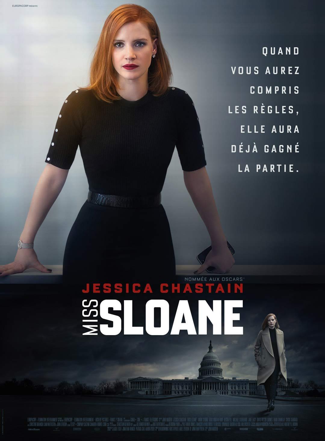 Miss Sloane Poster #2