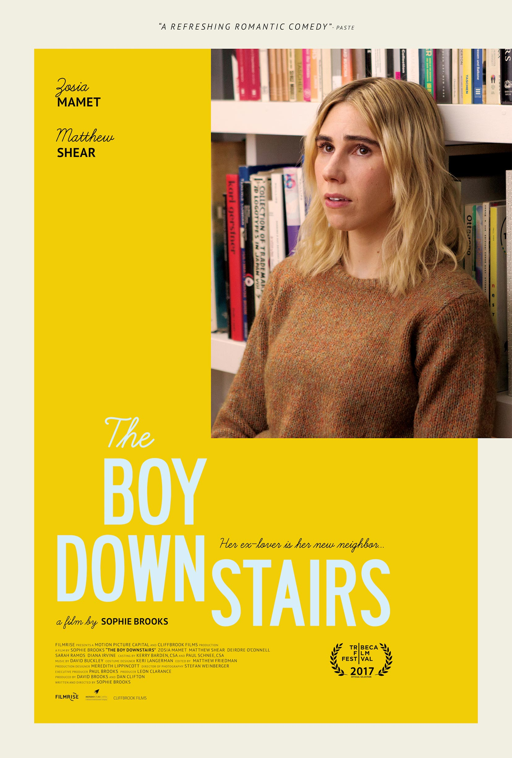 The Boy Downstairs Poster #1