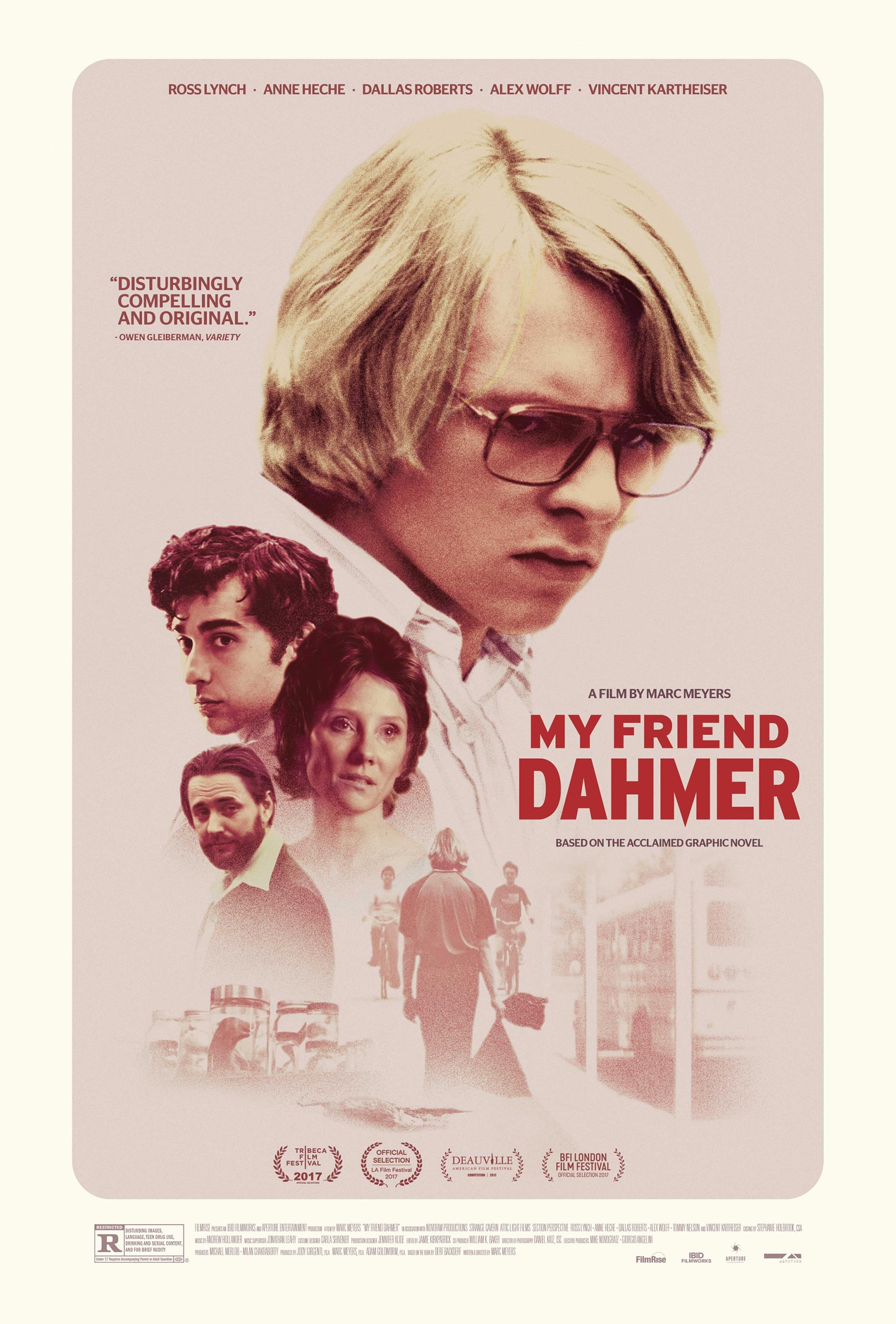 My Friend Dahmer Poster #1