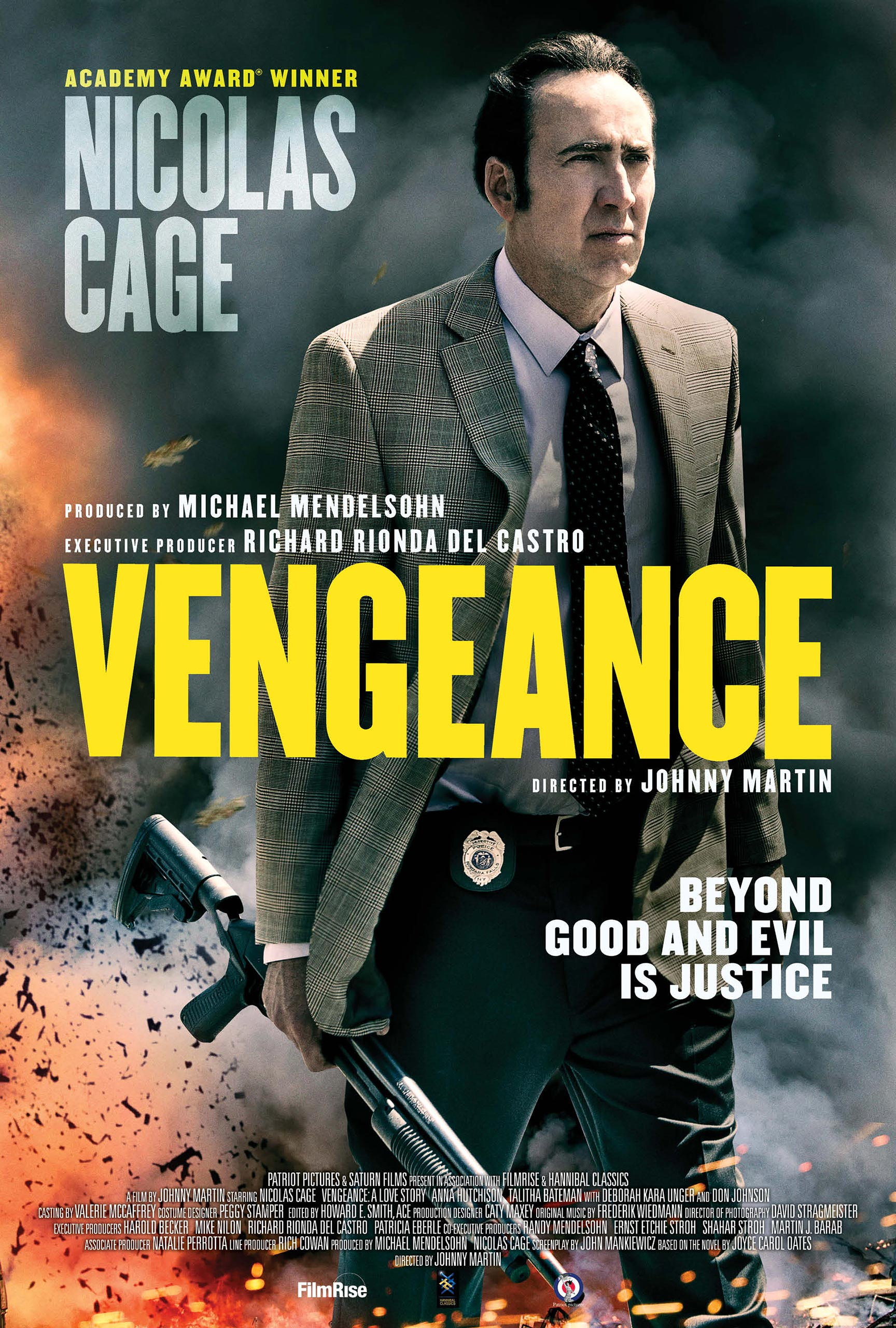 Vengeance: A Love Story Poster #1
