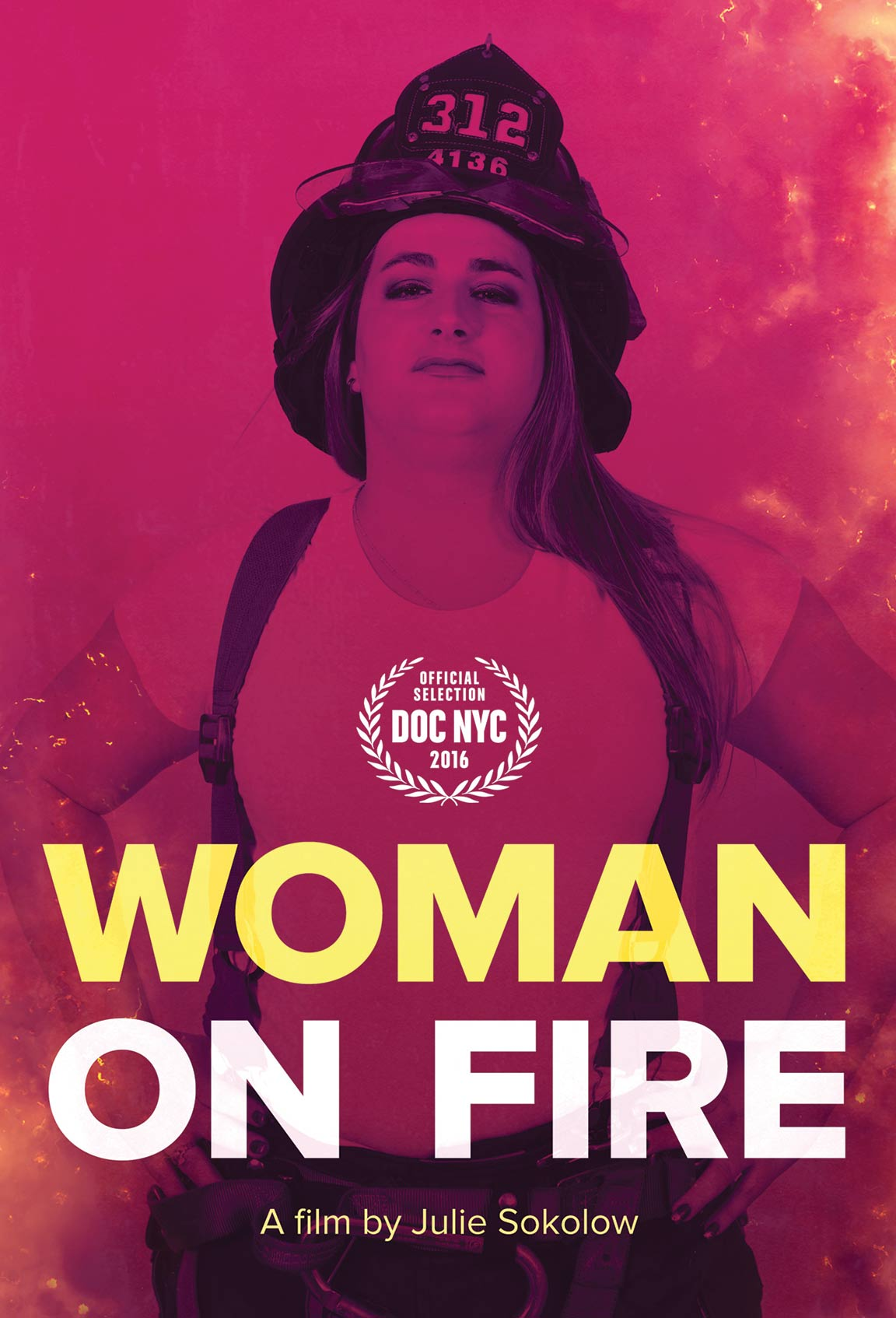 Woman on Fire Poster #1