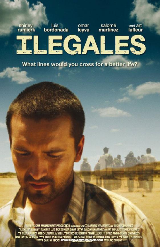 Illegal (Ilegales) Poster #1
