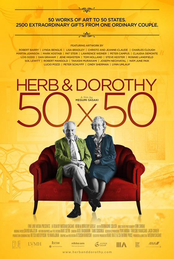 Herb & Dorothy 50x50 Poster #1
